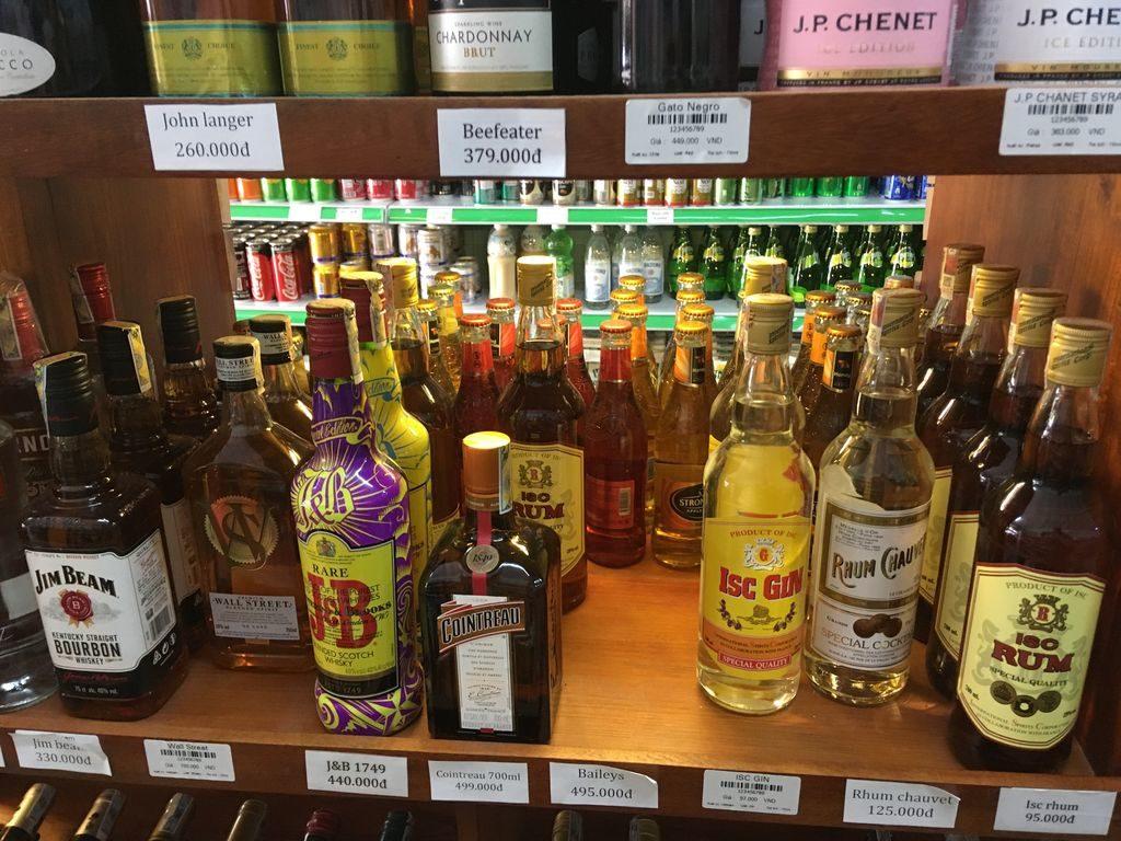 алкогольные напитки Вьетнама