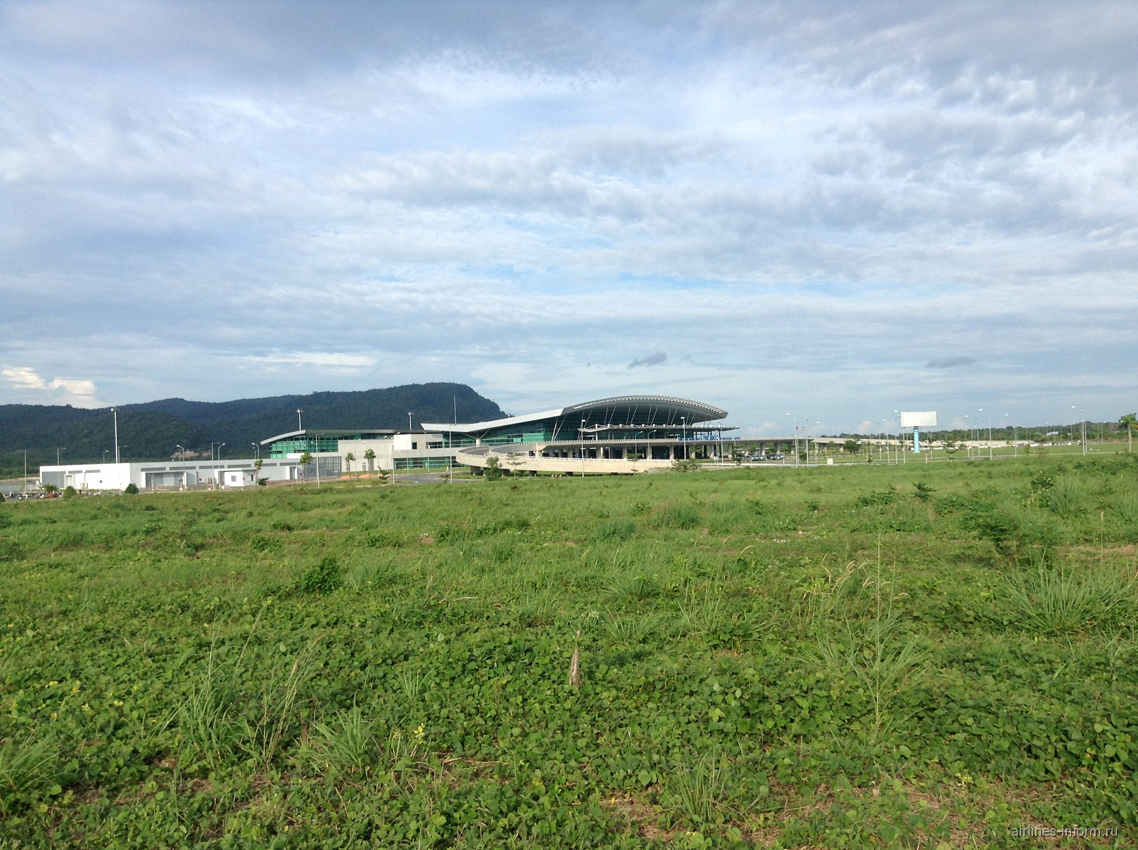 аэропорт на острове Фукуок Вьетнам