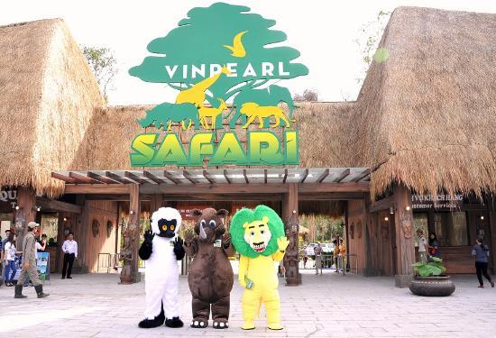 Вход в сафари-парк Винперл