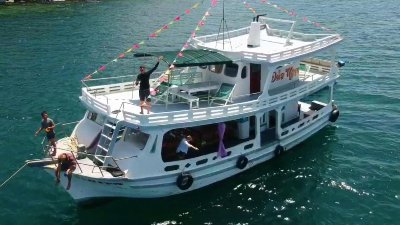 Прогулка на яхте с острова Фукуок
