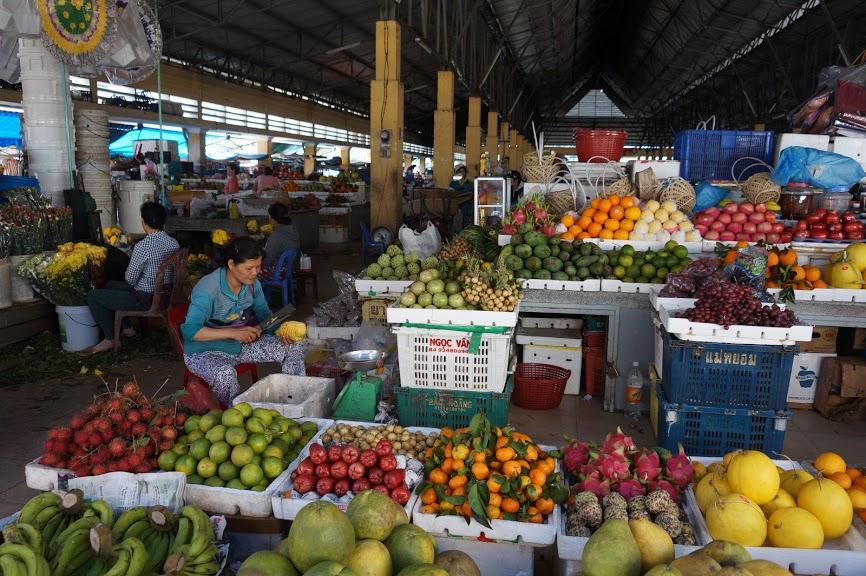 Фруктовый рынок на Фукуоке