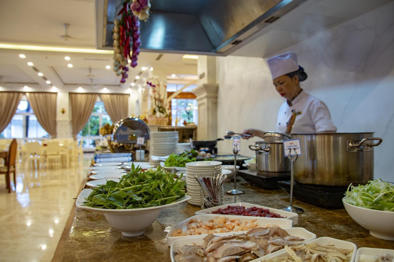 Завтраки в отеле Thien Thanh Resort 5*