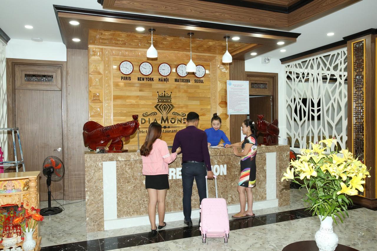 Ресепшн отеля Diamond Hotel 3* на Фукуоке