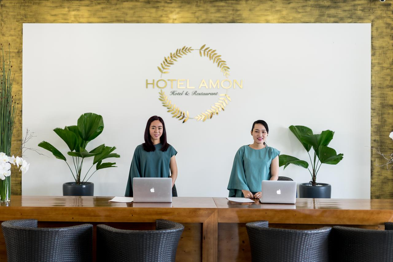 Ресепшн отеля Amon Beach Hotel