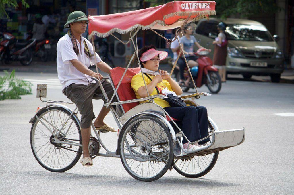 Можно ли ездить на велорикше во Вьетнаме?
