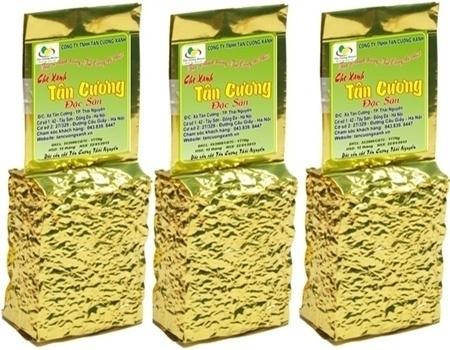 Вьетнамский зеленый чай, упакованный в вакуум
