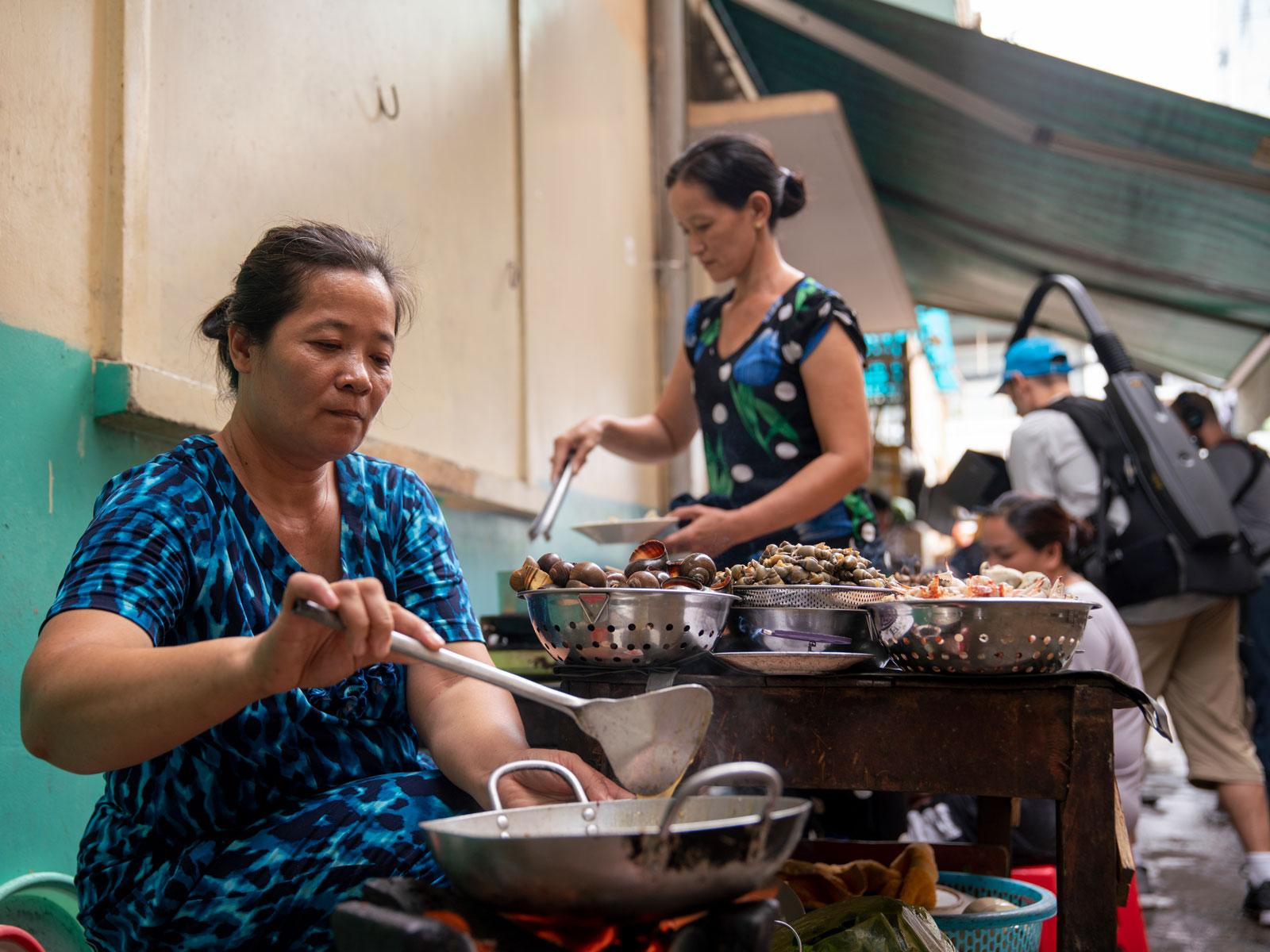 Уличная еда во Вьетнаме