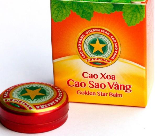 Бальзам «Золотая звезда» из Вьетнама